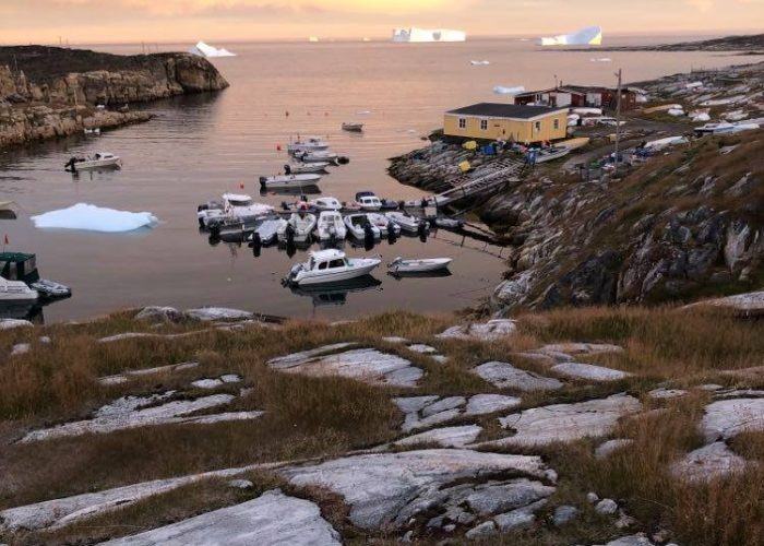 Greenland boats