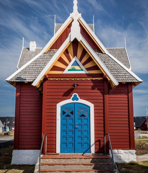 Qeqertarsuaq building